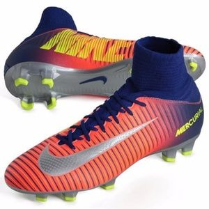youth 5.5 Nike mercurial superfly 5/v FG cleats